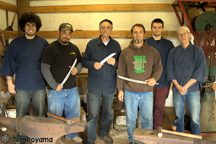 Tomboyama_-_May_2011_Basic_Forging_Course_027_-_Class_Photo