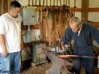Tomboyama_-_May_2011_Basic_Forging_Course_003