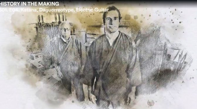 Gabriel and Michael Bell appear on <i>History in the Making</i>